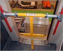 Carriage door barriers