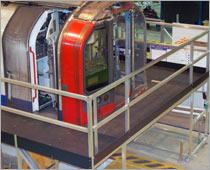 Carriage & windscreen access