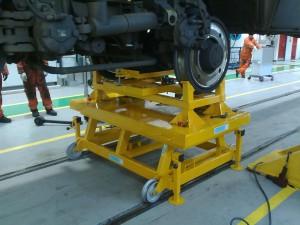 Wheel Set Removal